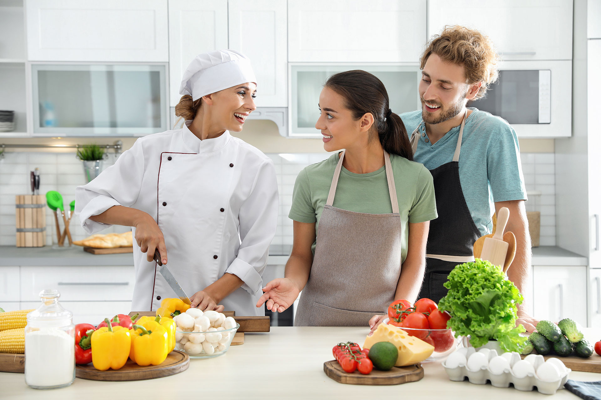 Cooking In A Group